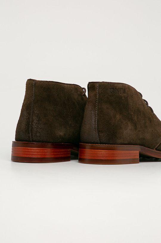 Big Star - Semišové topánky  Zvršok: Semišová koža Vnútro: Prírodná koža Podrážka: Syntetická látka