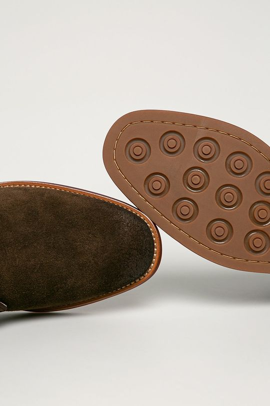 hnedá Big Star - Semišové topánky