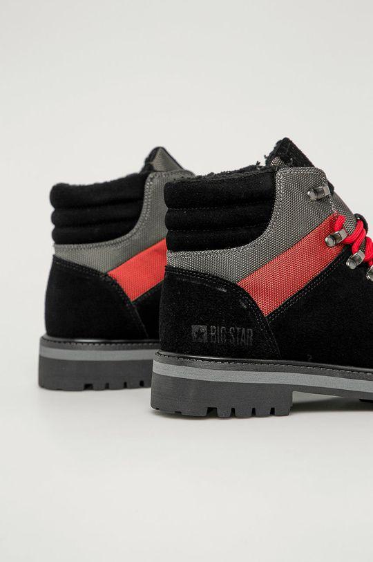 Big Star - Členkové topánky  Zvršok: Textil, Semišová koža Vnútro: Textil Podrážka: Syntetická látka