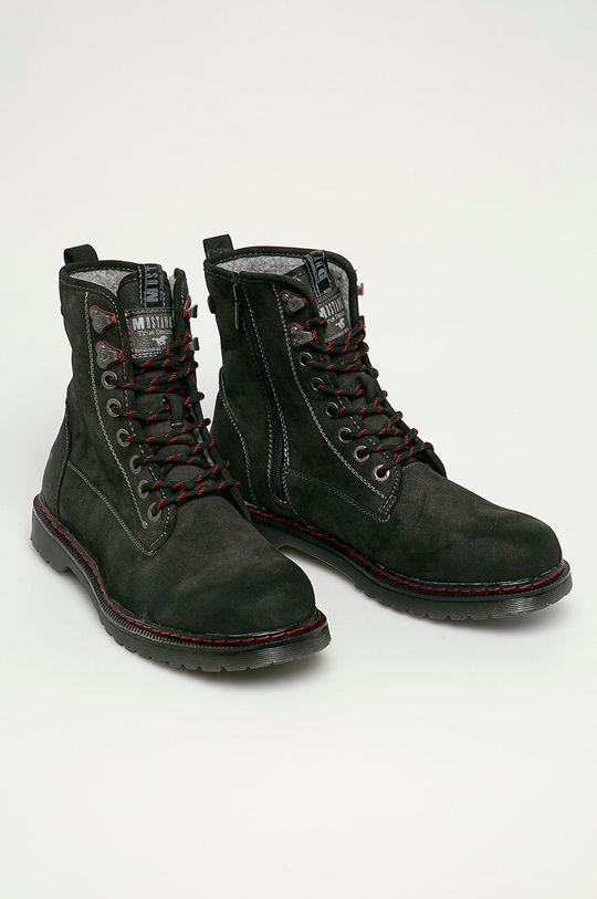 Mustang - Kotníkové boty šedá