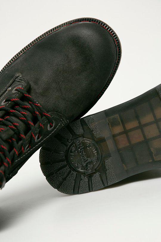 šedá Mustang - Kotníkové boty