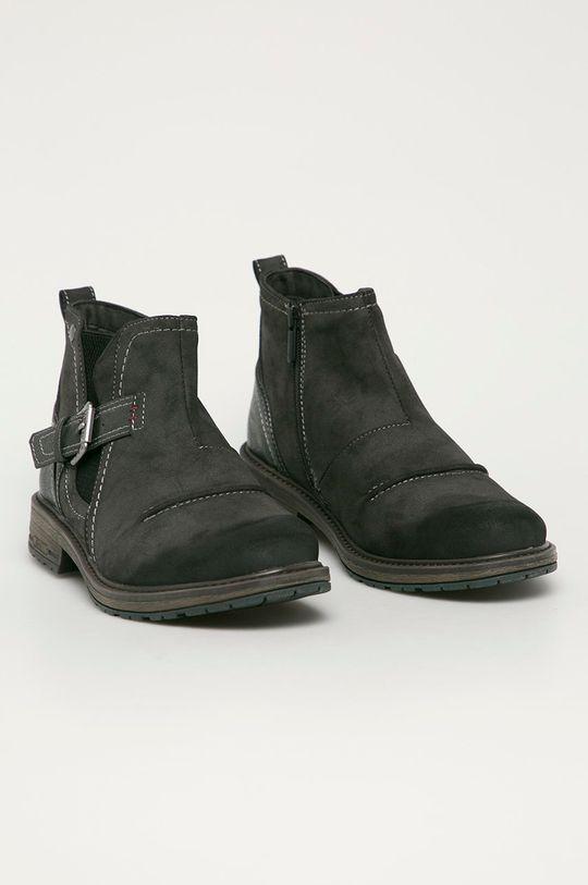 Mustang - Boty šedá