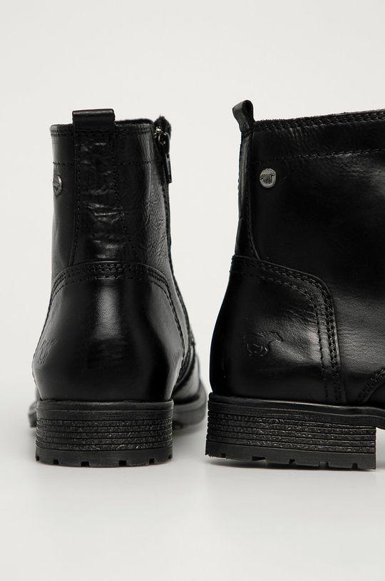 Mustang - Kožené boty  Svršek: Přírodní kůže Vnitřek: Textilní materiál, Přírodní kůže Podrážka: Umělá hmota