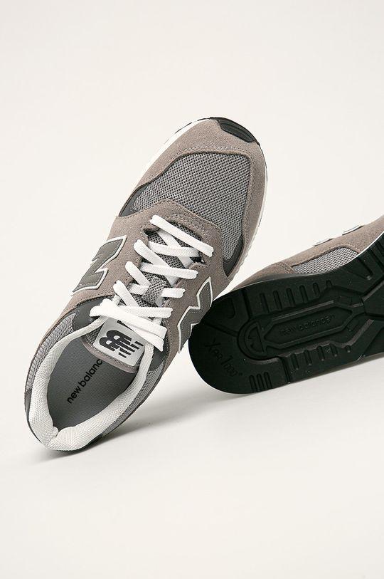 sivá New Balance - Topánky ML570HJC