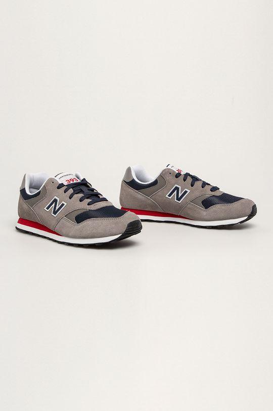 New Balance - Topánky ML393SH1 sivá