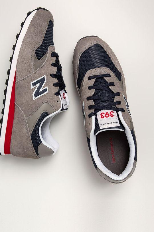 sivá New Balance - Topánky ML393SH1