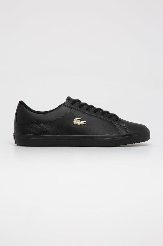 čierna Lacoste - Topánky Lerond Pánsky
