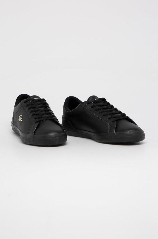 Lacoste - Topánky Lerond čierna