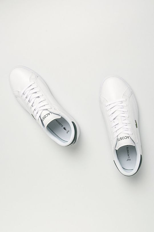 Lacoste - Kožená obuv Powercourt Pánsky