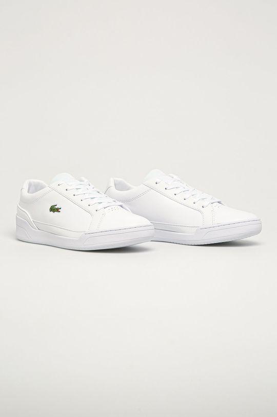Lacoste - Kožená obuv Challenge 01020 2 SMA biela