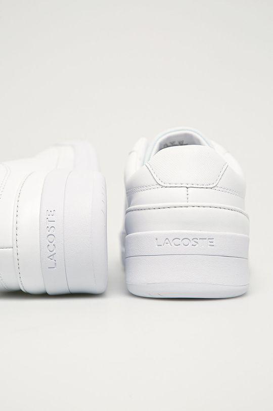 Lacoste - Kožená obuv Challenge 01020 2 SMA  Zvršok: Syntetická látka, Prírodná koža Vnútro: Syntetická látka, Textil Podrážka: Syntetická látka