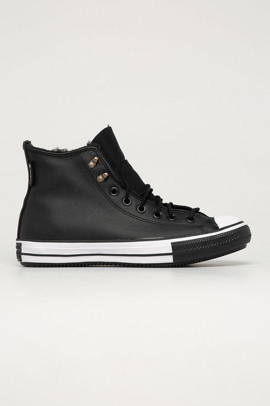 čierna Converse - Kožené tenisky Pánsky