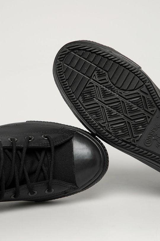 čierna Converse - Kožené tenisky