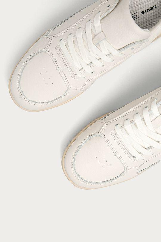 biały Levi's - Buty skórzane