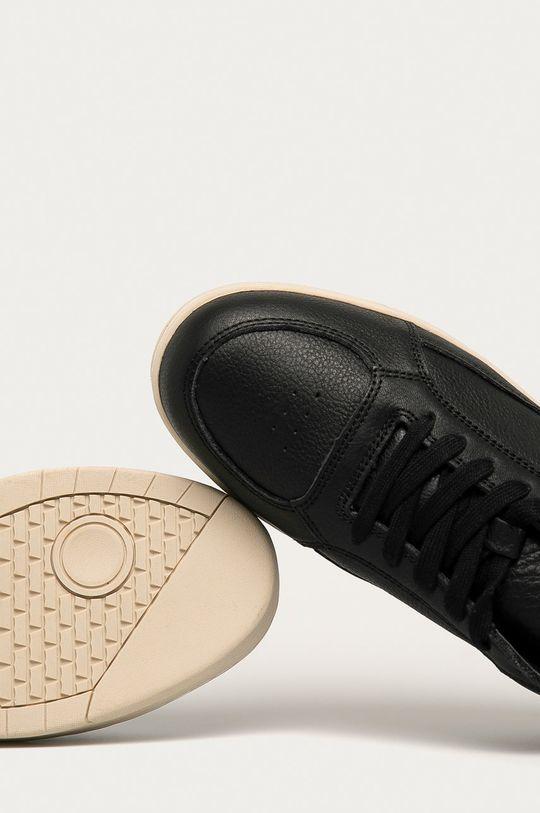 czarny Levi's - Buty skórzane
