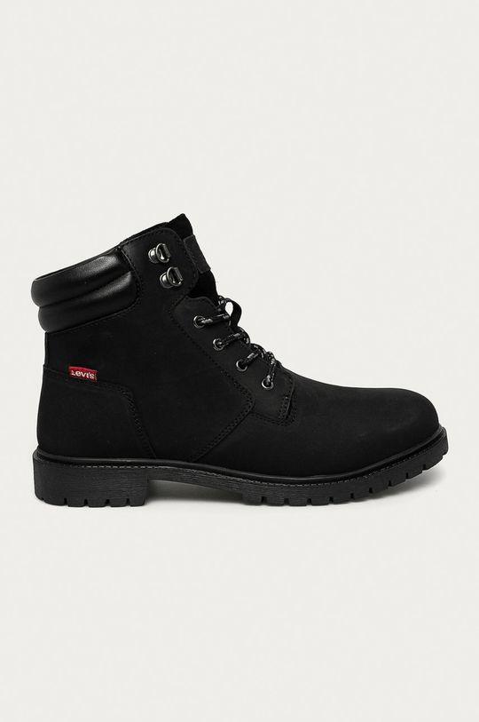 čierna Levi's - Topánky Pánsky