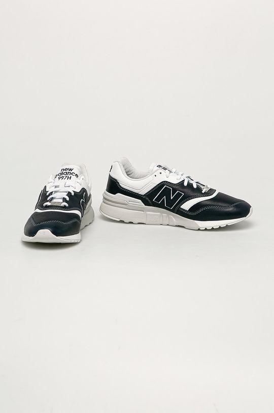 New Balance - Kožené boty CM997HEO námořnická modř