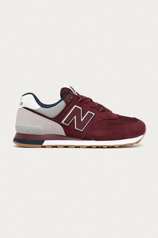 carmin New Balance - Pantofi ML574GRD De bărbați