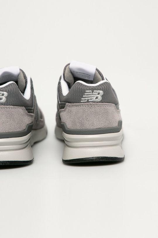 szary New Balance - Buty CM997HCA