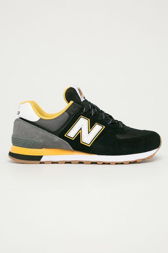 negru New Balance - Pantofi ML574SKA De bărbați