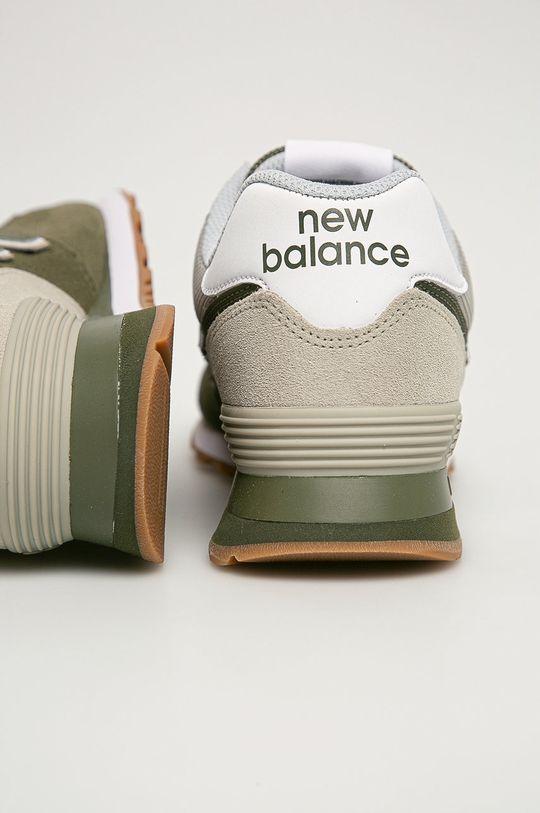 New Balance - Pantofi ML574GRF  Gamba: Material textil, Piele intoarsa Interiorul: Material textil Talpa: Material sintetic