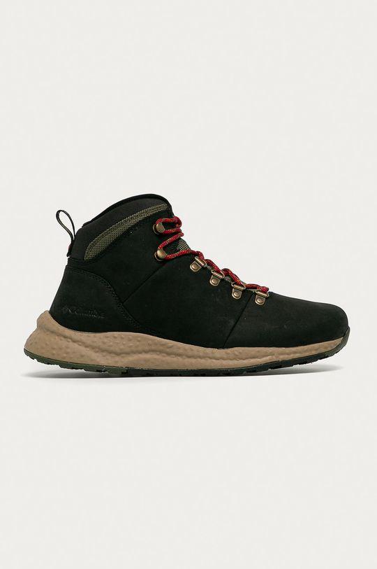čierna Columbia - Topánky Sh/Ft Wp Hiker Pánsky
