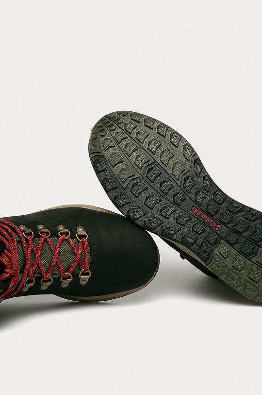 čierna Columbia - Topánky Sh/Ft Wp Hiker