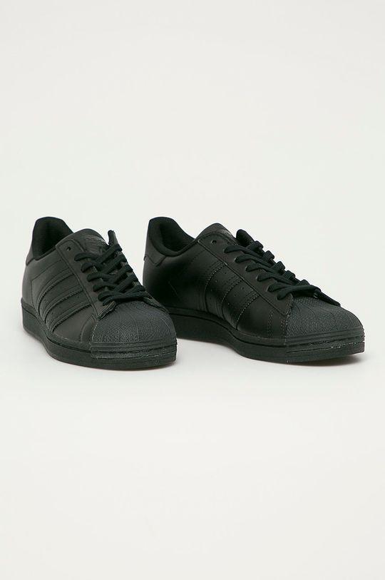 adidas Originals - Ghete de piele Superstar negru