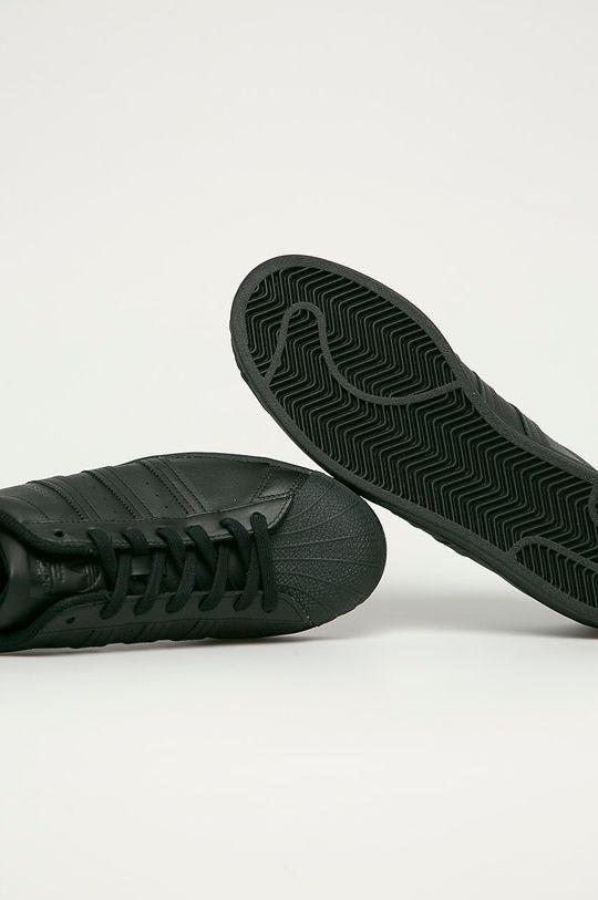 negru adidas Originals - Ghete de piele Superstar