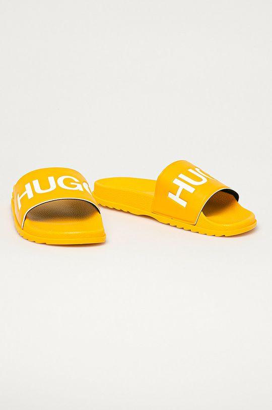 Hugo - Klapki żółty