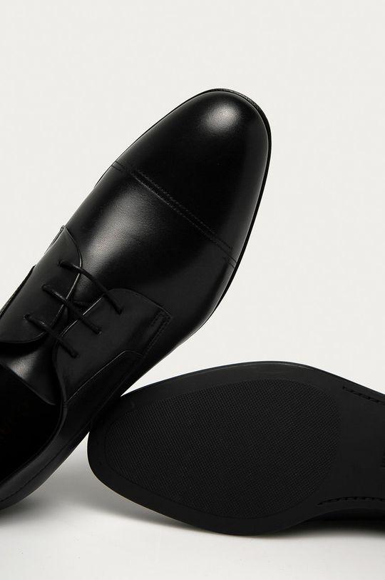 negru Hugo - Pantofi de piele