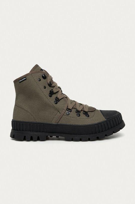 verde murdar Palladium - Pantofi De bărbați