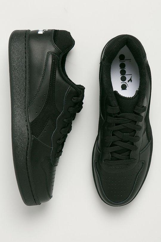 Diadora - Kožené boty Mi Basket Low Pánský