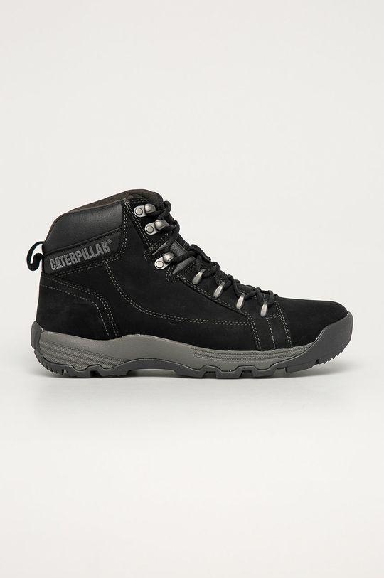 čierna Caterpillar - Semišové topánky Supersede Pánsky