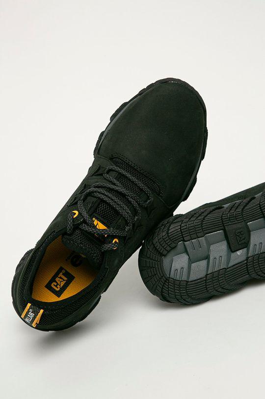 černá Caterpillar - Kožené boty Electroplate