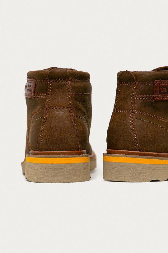 Caterpillar - Kožené boty Jackson  Svršek: Přírodní kůže Vnitřek: Textilní materiál Podrážka: Umělá hmota