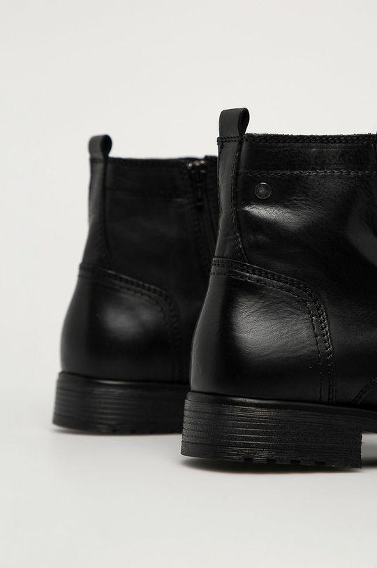 Jack & Jones - Kožená obuv  Zvršok: Prírodná koža Vnútro: Textil Podrážka: Syntetická látka
