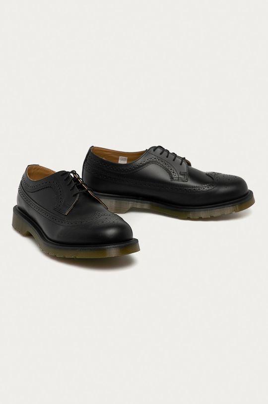 Dr. Martens - Pantofi de piele 3989 negru