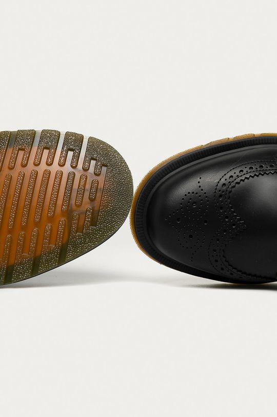 negru Dr. Martens - Pantofi de piele 3989