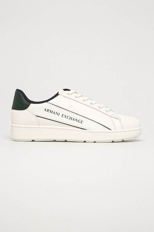 alb Armani Exchange - Pantofi De bărbați