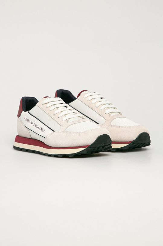 Armani Exchange - Buty biały