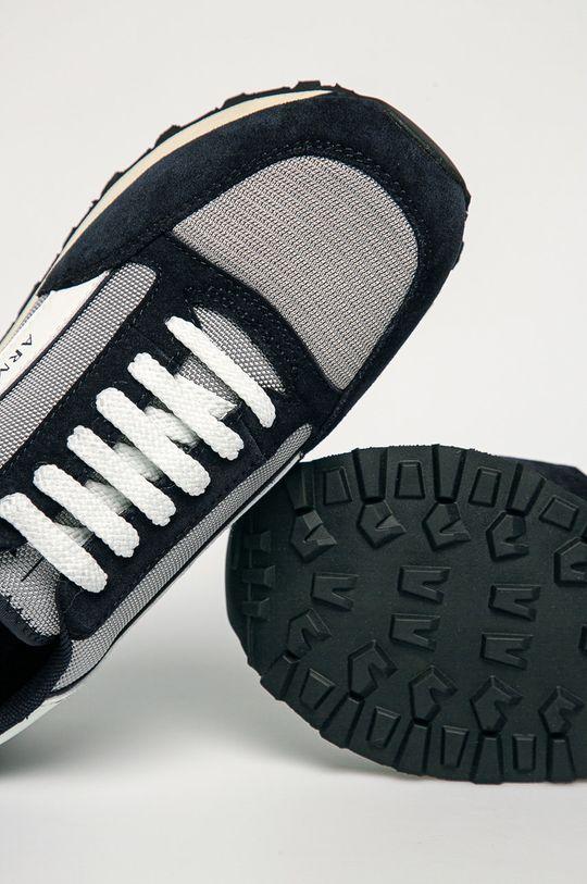 tmavomodrá Armani Exchange - Topánky