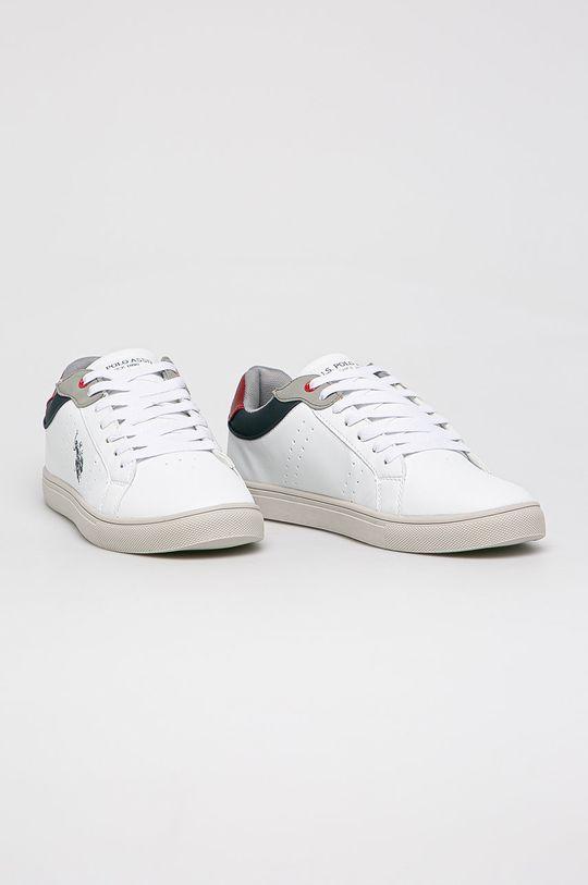 U.S. Polo Assn. - Pantofi alb