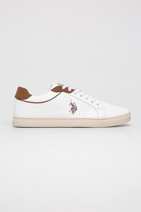 alb U.S. Polo Assn. - Pantofi De bărbați