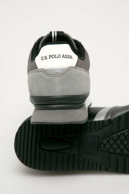 U.S. Polo Assn. - Boty  Svršek: Umělá hmota, Semišová kůže Vnitřek: Textilní materiál Podrážka: Umělá hmota