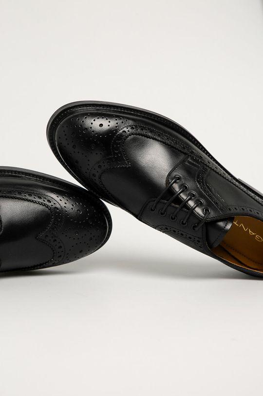 czarny Gant - Półbuty skórzane Flairville
