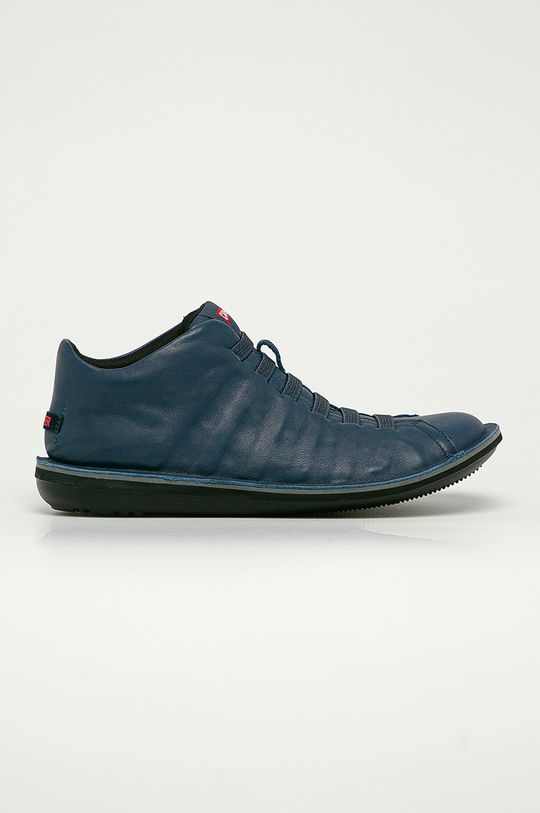 modrá Camper - Kožené boty Beetle Pánský