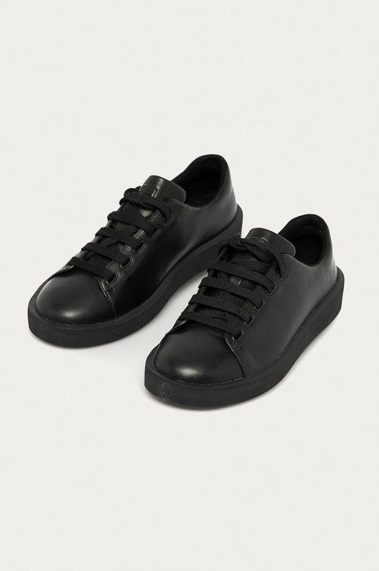 Camper - Buty skórzane czarny