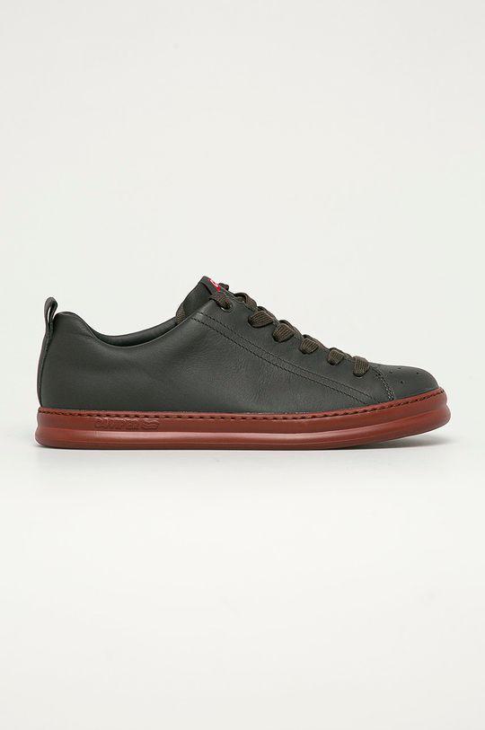 šedá Camper - Kožené boty Runner Four Pánský