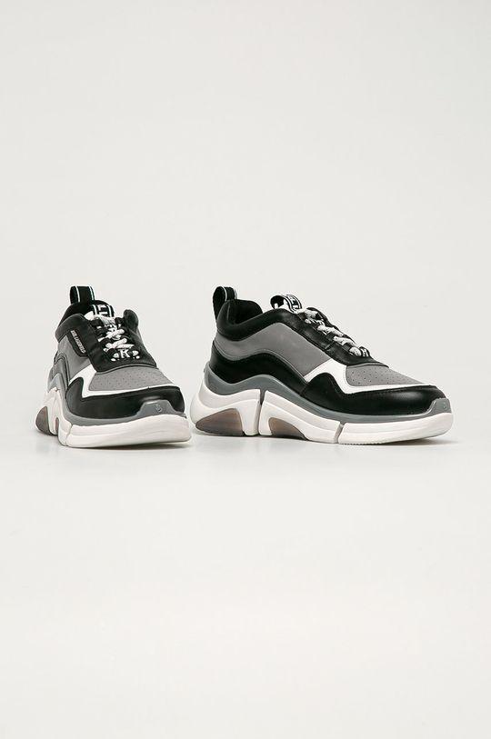 Karl Lagerfeld - Boty šedá